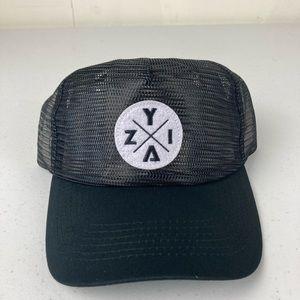 Zyia -x mesh hat net black